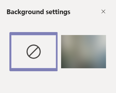 Restricting custom backgrounds to blur only.